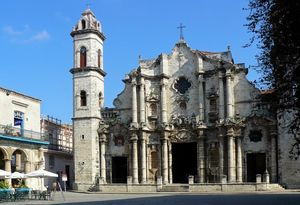 Plaza de la Catedral Square of Old Havana