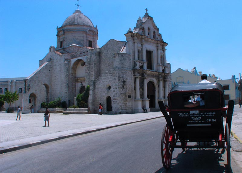 Iglesia de San Francisco de Paula, Cuba