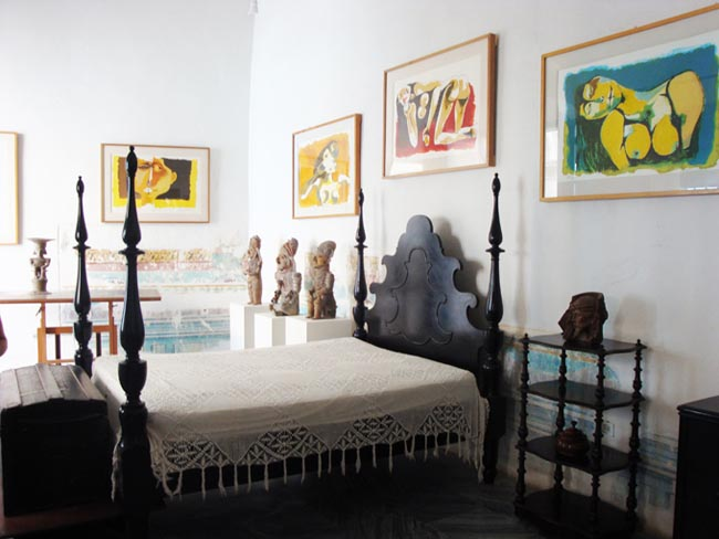 Museo Casa de Oswaldo Guayasamín, Cuba