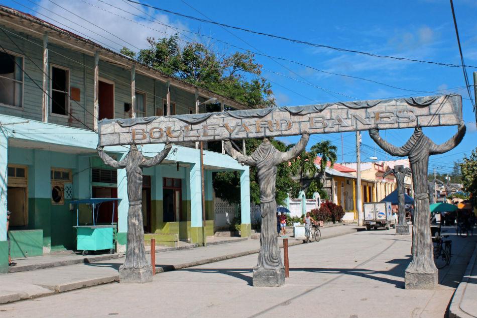 Dónde está Banes Cuba