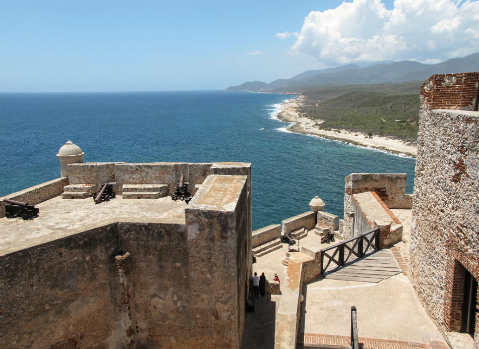 Fortaleza de Santiago de Cuba.