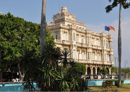 Ambassade d'Espagne à Cuba