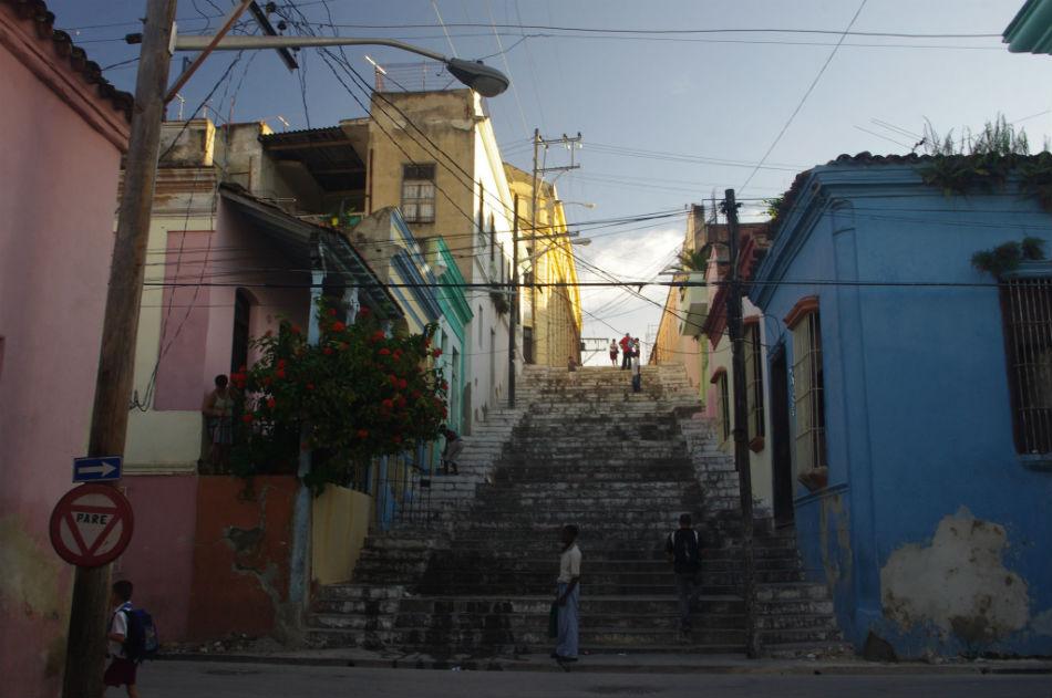 Escalinata Padre Pico