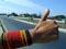 hitchhiking in Cuba