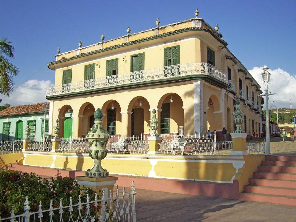 Museo Romantico.Museo Romantico O Palacio Brunet Trinidad