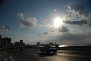 Atardecer en El Malecón