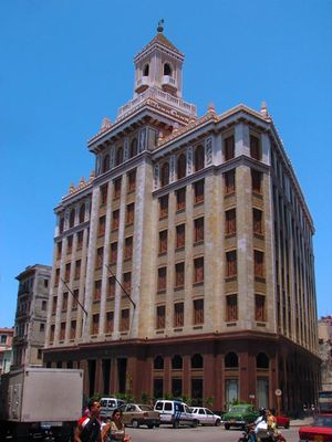 Bâtiment Bacardí, La Havane