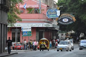 Restaurante-Bar El Floridita, Calle Obispo