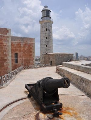 Lighthouse at the Morro Castle