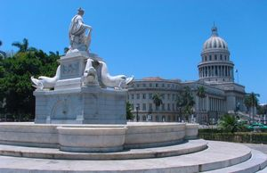 La India Fountain, Havana