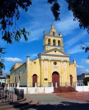 L'Église de Nuestra Señora del Carmen, Santa Clara, Cuba