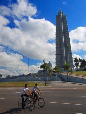 Mémorial à José Martí,Place de la Révolution, La Havane