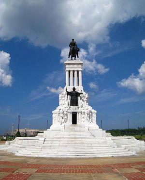 Monumento a Máximo Gómez, L'Avana