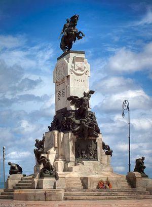 Le Monument à Antonio Maceo, La Havane