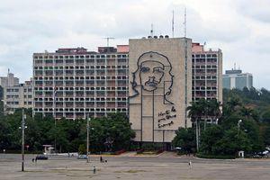 Che Guevara, Vedado, Havana