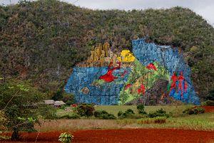 Mural de la Prehistoria, Cuba