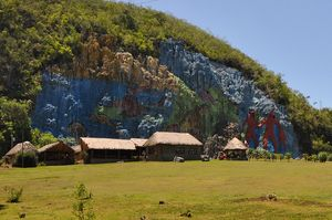 Mural de la Prehistoria, Valle de Viñales