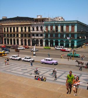 Paseo Martí, Centro Avana