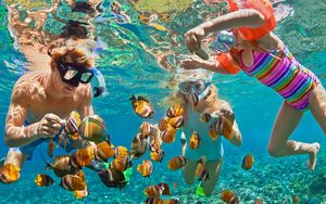 Snorkelling a Cayo Guillermo