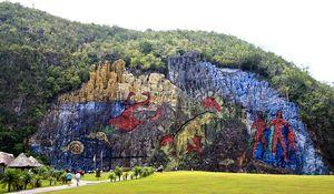 Mural de la Prehistoria de Viñales