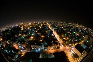views from the hotel Habana Libre