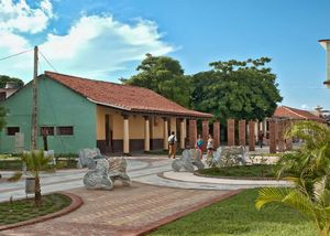 Boulevard en Nueva Gerona, Isla de la Juventud