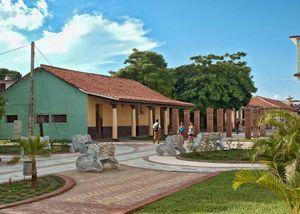 Boulevard à Nueva Gerona, Isla de la Juventud