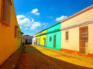 Trinidad street, Sancti Spíritus