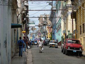 Santiago de Cuba rue