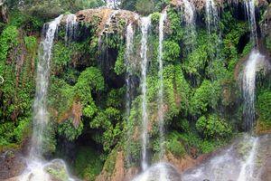 Cascada en El Nicho, Cuba