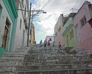 Escalinata Padre Pico Highway, Santiago de Cuba
