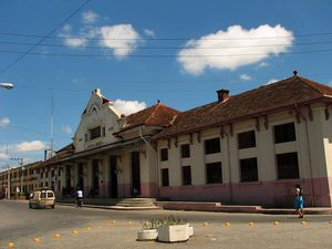 Train Station in Cuba