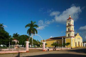 Iglesia Parroquial de San Juan Bautista Church and Nuestra Señora del Buen Viaje Church