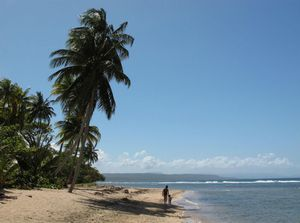 Beach in Baracoa, Guantánamo
