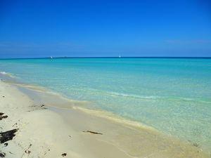 Playa Las Gaviotas, cuba