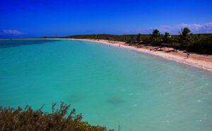 Playa Las Salinas, Cayo Las Brujas