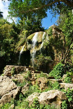 Salto del Arco Iris, Soroa
