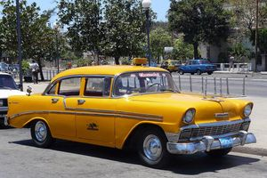 Taxis à Cuba