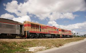Train in Cuba